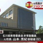 女湯のぞき見で石川の中学の元校長・山本秀紀を逮捕wwのぞき見の方法がとんでもないwww(画像あり)