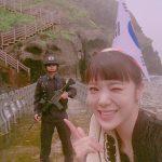 韓国アイドル「AFTERSCHOOL」リジが竹島に不法上陸www日本を挑発してる画像がやばいwww