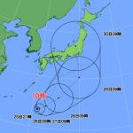 【2016】台風10号の最新進路予想図がヤバイ件・・・(米軍・気象庁)