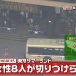 【衝撃】東京サマーランド女性切りつけ事件の犯人がヤバイ!!?女性8人が尻や下腹部を切られる…(画像あり)