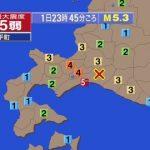 【速報】北海道で地震!!ヤバすぎる前兆かと噂に(画像あり)
