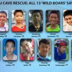 【タイ洞窟】救出された13少年の最新情報と現在wwwwwwwww