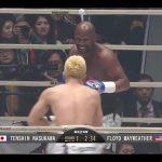 【RIZIN】メイウェザーvs那須川天心の試合、ハンデがやばすぎると批判殺到…(動画あり)