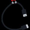 充電ケーブルがすぐ断線する理由wwwwwww