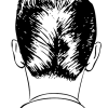 【悲報】鏡で自分の後頭部撮って見た結果wwwwwwww(画像あり)