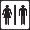 【悲報】Twitter女さん「高級すき焼き店のトイレの性別マークが下品で心に傷を負った」→ ご覧くださいwwwwwwww(画像あり)