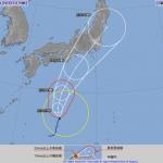 【日本直撃】台風12号の最新進路予想図・・・ヤバ過ぎやろ・・・