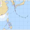 【悲報】台風10号の各国予想進路、韓国だけおかしいwwwwww