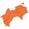 【悲報】四国の地形図がヤバすぎると話題にwwwwwww